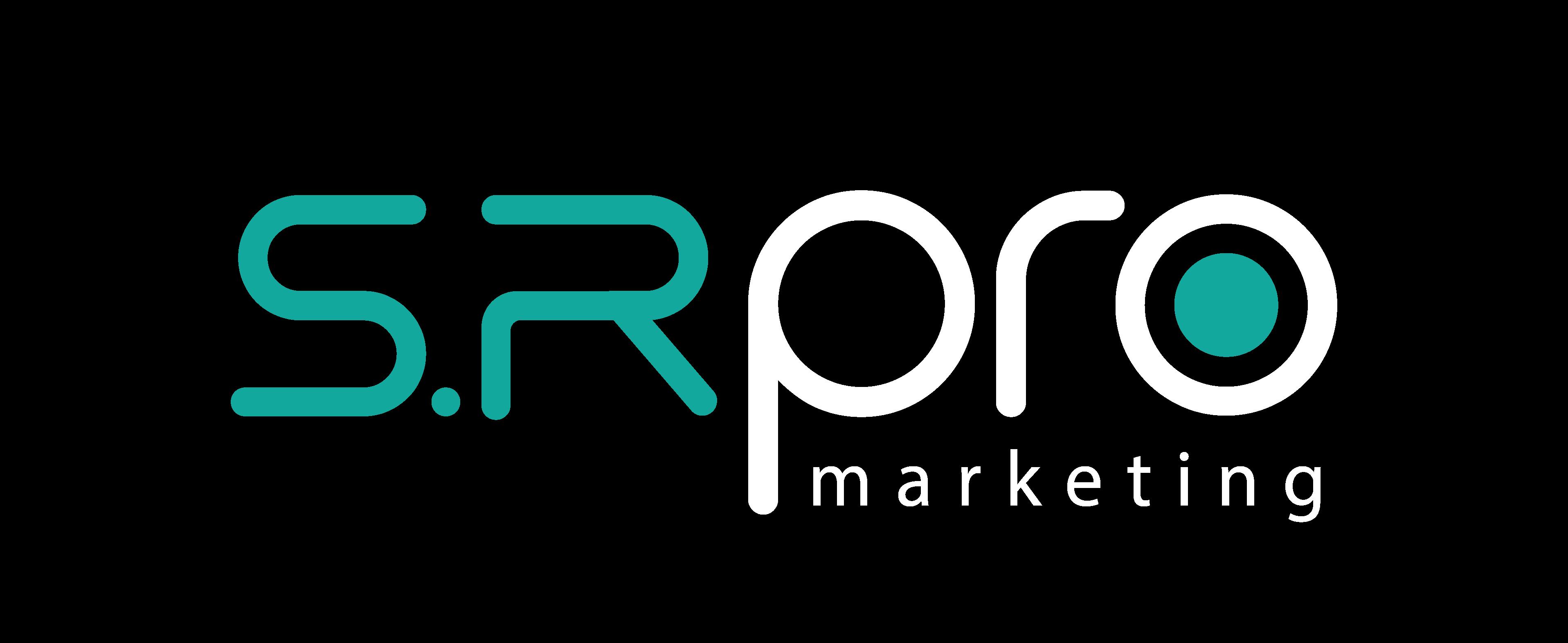 sr pro logo white